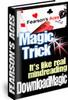 Thumbnail card magic tricks