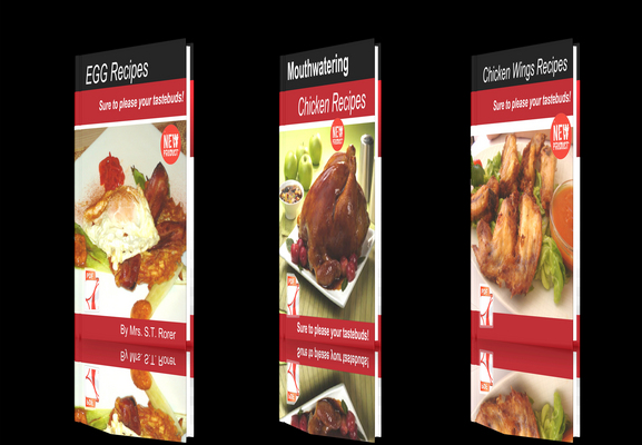 Product picture **NEW!**Fresh Recipes three E-books