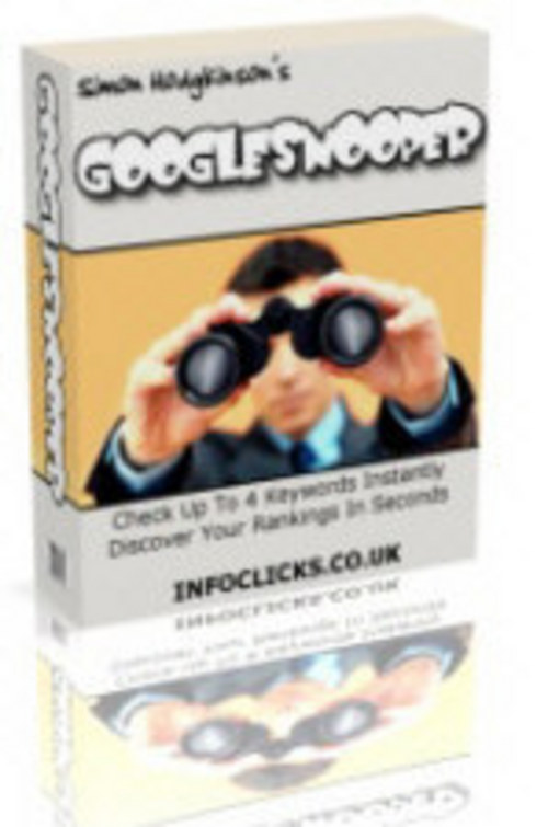 Product picture Google Snooper MRR