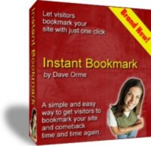 Product picture Instant Bookmark MRR/website/software
