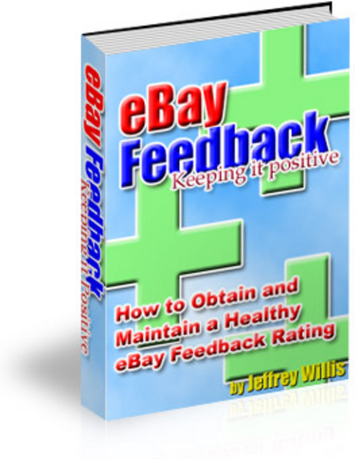 Product picture *NEW* eBay Feedback With Resale Rights